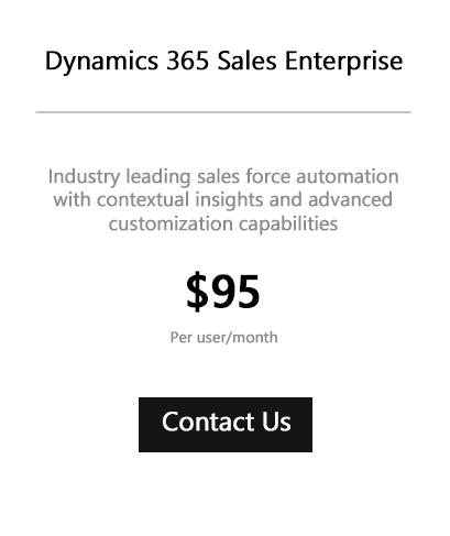 Dynamics 365 Sales Enterprise