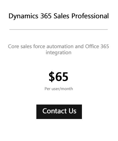 Dynamics 365 Sales Pro