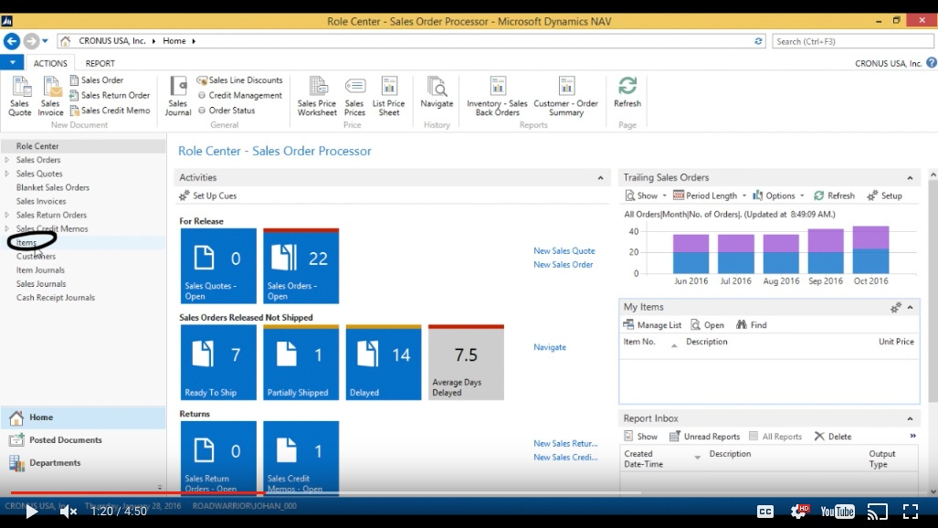 physical inventory count in microsoft dynamics nav 2015